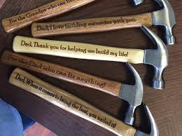 gift for dad engraved hammer personalized hammer gift for dad custom hammer