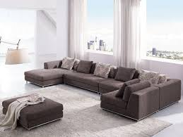 Ultra Modern Sofas by Furniture Modern Living Room Sofa And Chair With Round End Table