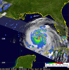 Map Of The Gulf Of Mexico by Nasa Katrina Intensifies Into A Powerful Hurricane Strikes