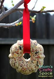bird seed ornaments happiness is