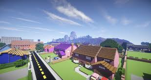 springfield map minecraft simpsons springfield maps mapping and modding java