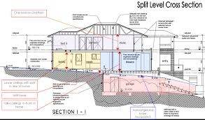 tri level home decorating sloped land house plans aloin info aloin info