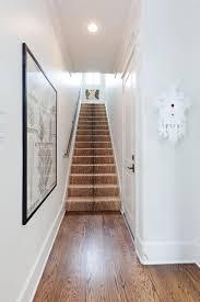 recessed baseboard home design beige carpet runner in inspiring traditional entry