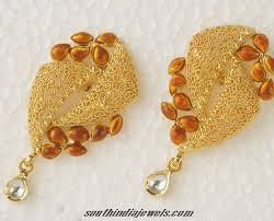 stylish gold earrings designer gold earrings designers gold and jewelry model