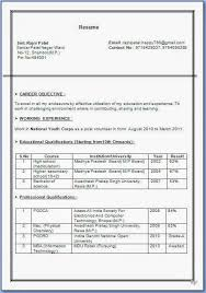 resume format for msc chemistry freshers resume format