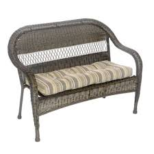 Garden Bench With Cushion Buy Outdoor Bench Cushion From Bed Bath U0026 Beyond