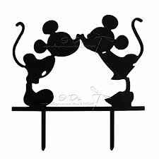 mickey and minnie wedding free shipping acrylic mickey and minnie wedding cake topper