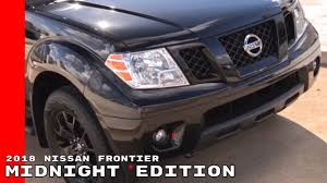 nissan rogue midnight edition commercial 2018 nissan frontier midnight edition youtube