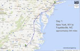 Washington Nc Map by Driving From New York To Florida U2013 A Step By Step Itinerary Kids