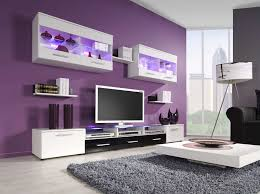Glass Tv Cabinet Designs For Living Room Accent Colors For Your Lovely Purple House Homes Tinogalleryz Net