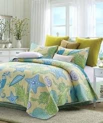 Beach Comforter Sets Coastal Bed Comforter Sets Coastal Decor Quilts White And Blue
