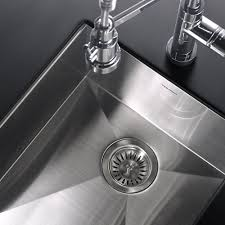 houzer ctr 1700 contempo series undermount stainless steel bowl