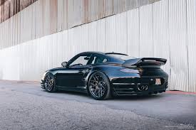 porsche supercar black porsche 997 2 turbo brixton forged wheels