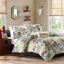 Paisley Comforter Sets Full Asha Printed Paisley Comforter Set By Mizone Hayneedle