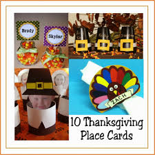 10 thanksgiving place card holders everyday