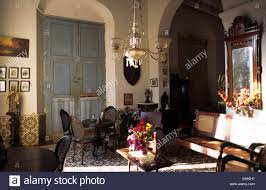 Middle Class Home Interior Design by The Interior And Furniture Of A Typical Colonial Home Dating From
