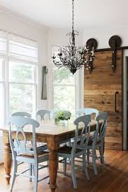 Rustic Wood Dining Room Table by Cozy Connecticut Holiday Home Traditional Home Love The Tiger