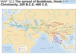 hinduism map image gallery of spread of hinduism map