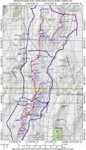 Nevada Map Nevada Mountain Atlas