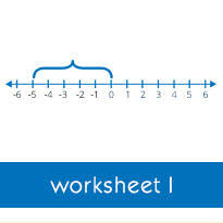 plotting rational numbers on a number line worksheets
