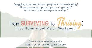 free homeschool curriculum resources archives money shift from surviving to thriving in your homeschool free 14 page