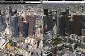 Google Maps Los Angeles Karten Krieg Apples 3d Maps Besser Als Die Von Google Itopnews