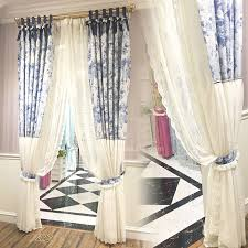 Country Living Curtains Inspiration Of Country Living Curtains And Blue And White Floral