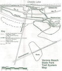 New York Thruway Map by Verona Beach