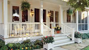 Colonial House With Farmers Porch Porch And Patio Design Inspiration Southern Living