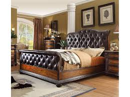 California King Sleigh Bed Alexandria Rich Cherry Cal King Sleigh Bed Shop For Affordable