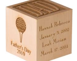 wooden personalized gifts personalized engraved baby block personalized gifts by blocksetc