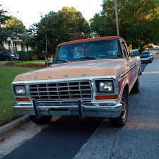 Ford Ranger Truck Colors - 1978 ford f150 ranger pick up truck parked on a suburban street in