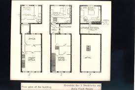 floor plan of the secret annex the gallery for anne franks secret annex floor plan anne frank
