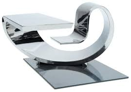 Futuristic Computer Desk Dadka Modern Home Decor And Space Saving Furniture For Small