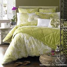 elizabeth hurley persian lime green duvet cover curtains and