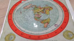 map of eart gleason s flat earth map in 1892 was made to replace the globe