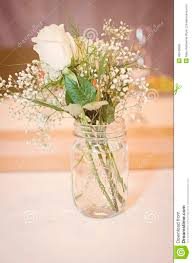 jar flower arrangements jar bouquet stock photo image of cloth arrangement 45540666