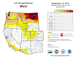 United States Map By Region by Unl And Climate Prediction Center Drought Monitors