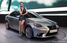 lexus malaysia hotline lexus is four variants for malaysia order books open image 181501