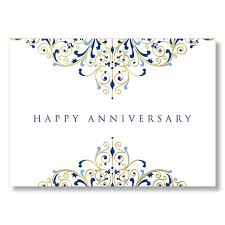 work anniversary cards anniversary flourish gold foil work anniversary card
