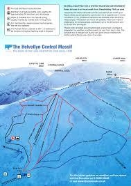 Lake District England Map by The Lake District Ski Club