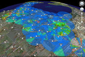Radar Map Usa by Wxanalyst Virtual Globe Radar Project Google Earth Kml Kmz