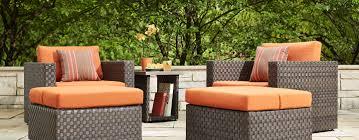 Orange Wicker Patio Furniture - furniture inexpensive craigslist patio furniture for patio