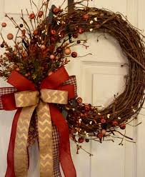 52 best fall wreaths images on fall door autumn