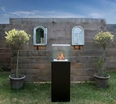 bio blaze column free standing ethanol fireplace modern loversiq