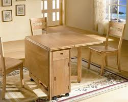 Folding Dining Table For Small Space Wooden Folding Dining Table Attractive Folding Dining Table