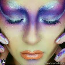 the 25 best futuristic makeup ideas on pinterest mermaid