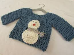crochet a children u0027s chunky christmas jumper sweater