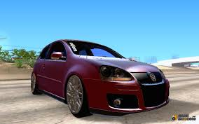 stanced volkswagen golf golf mk5 gti stance for gta san andreas