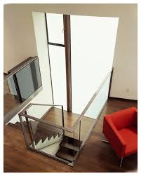 Banister Staircase Banister Staircase Contemporary With Open Stairway Frosted Glass